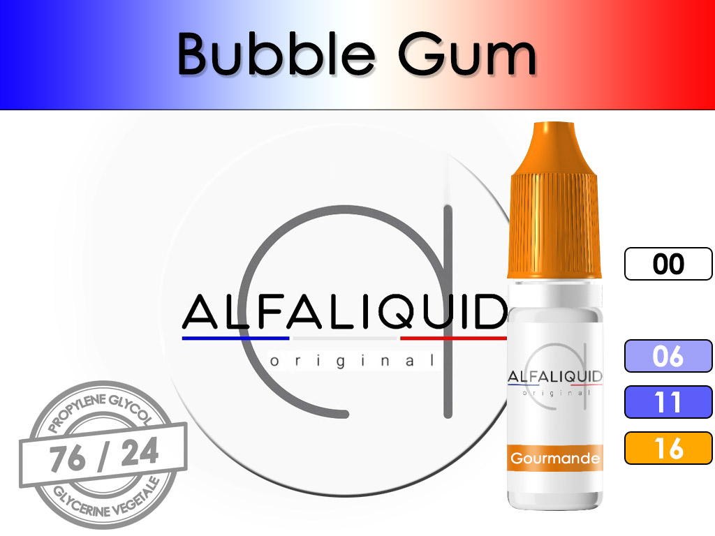 Bubble Gum - Alfaliquid