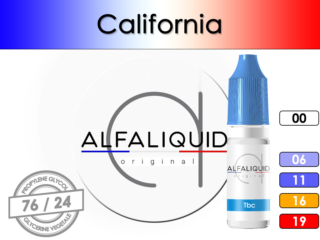 Tabac California - Alfaliquid