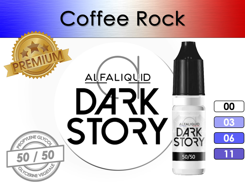 Coffee Rock Dark Story - Alfaliquid
