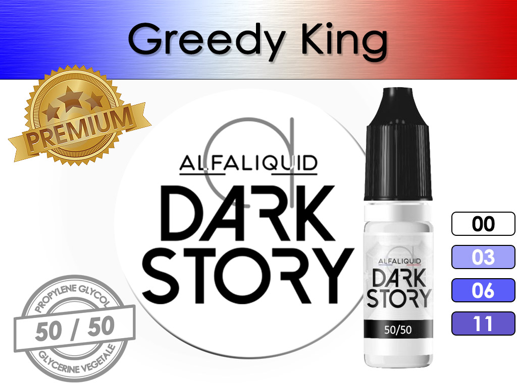 Greedy King Dark Story - Alfaliquid