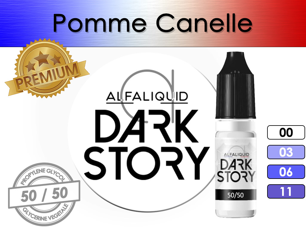 Pomme Cannelle Dark Story - Alfaliquid