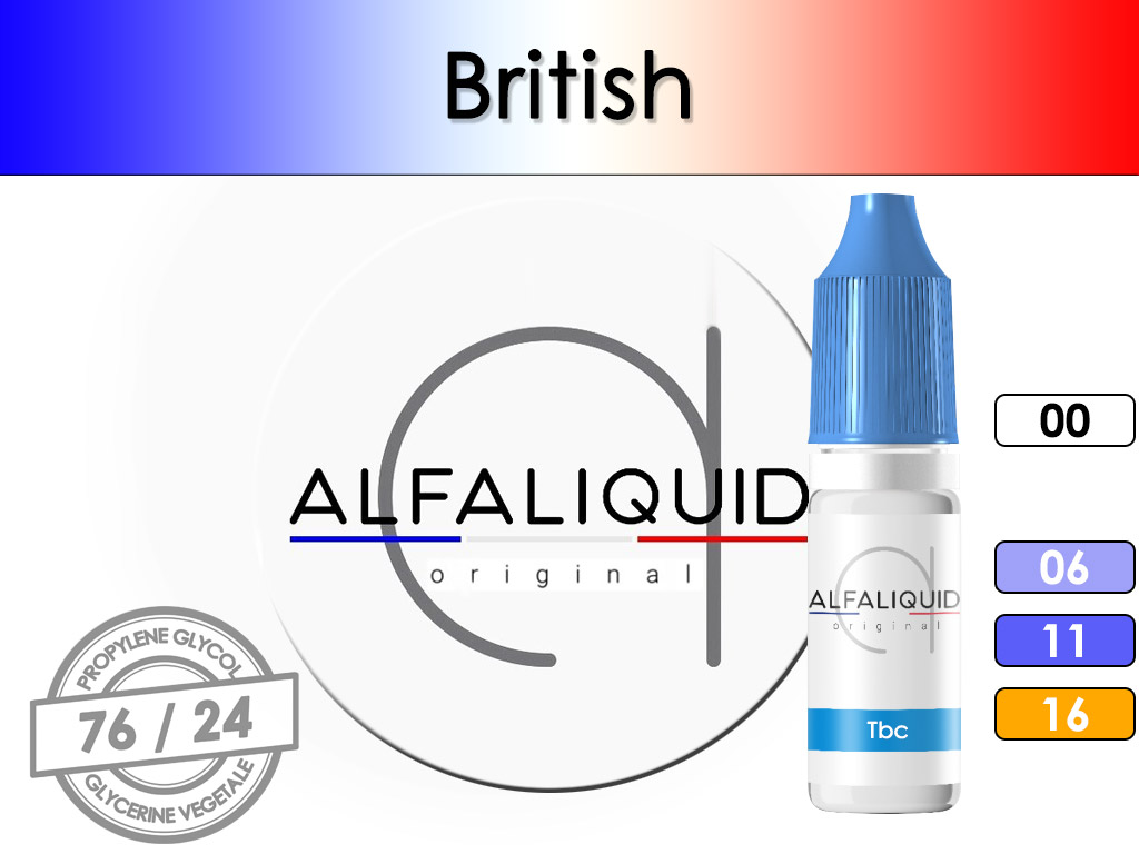 Tabac British - Alfaliquid