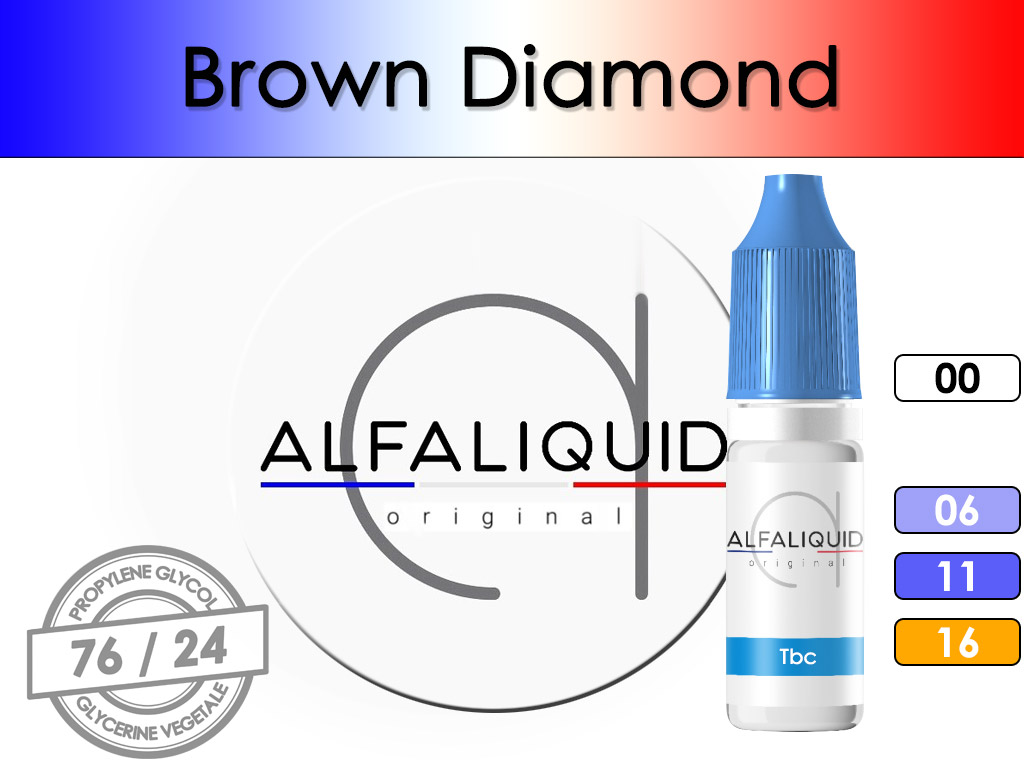 Tabac Brown Diamond - Alfaliquid