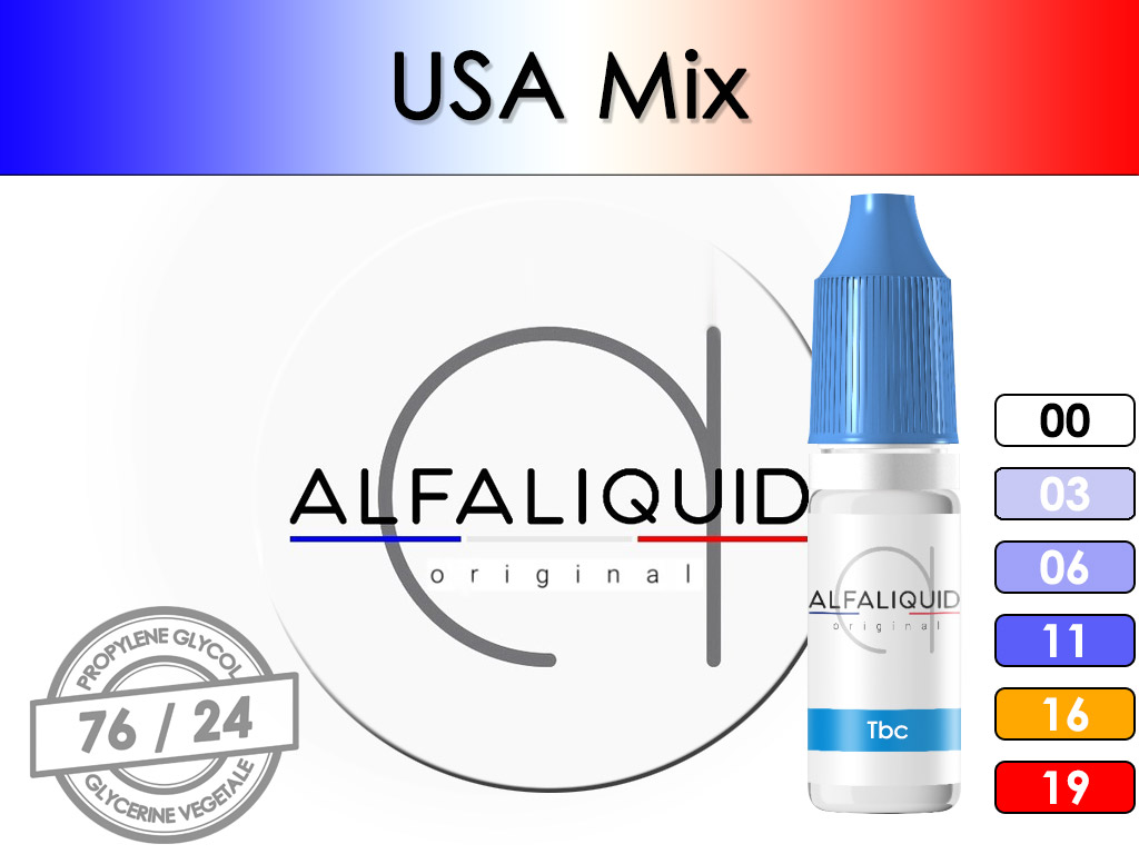 Tabac USA MIX - Alfaliquid