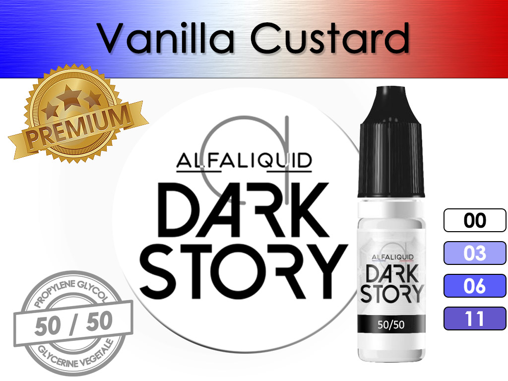 Vanilla Custard Dark Story - Alfaliquid