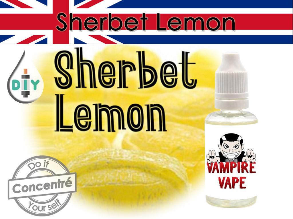 concentré sherbert lemon - vampire vape