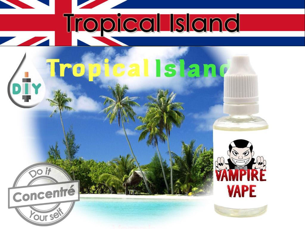 concentré tropical island - vampire vape