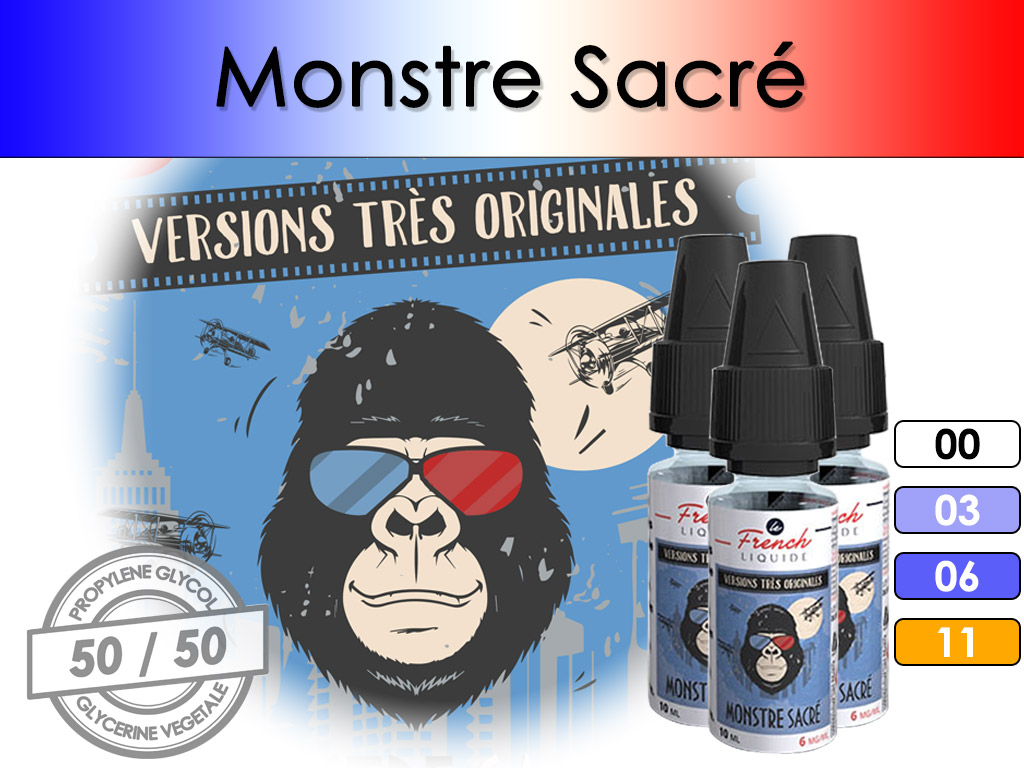 Monstre Sacré - French Liquid