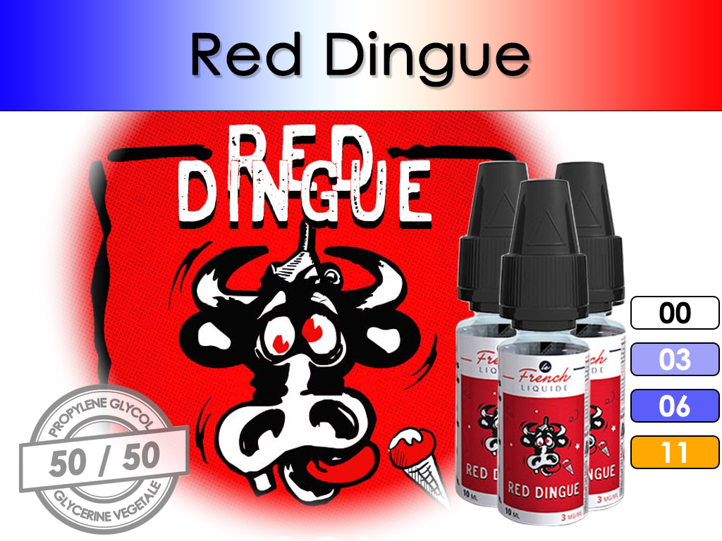 Red Dingue - French Liquid