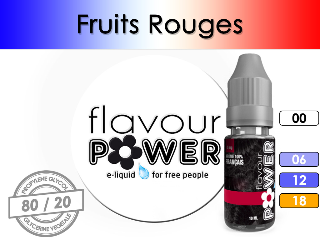 Fruits Rouges - Flavour Power