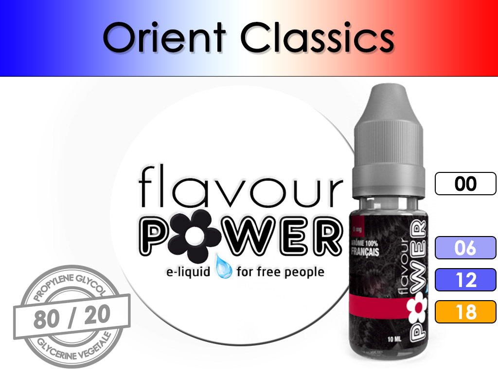 Tabac Orient Classics - Flavour Power