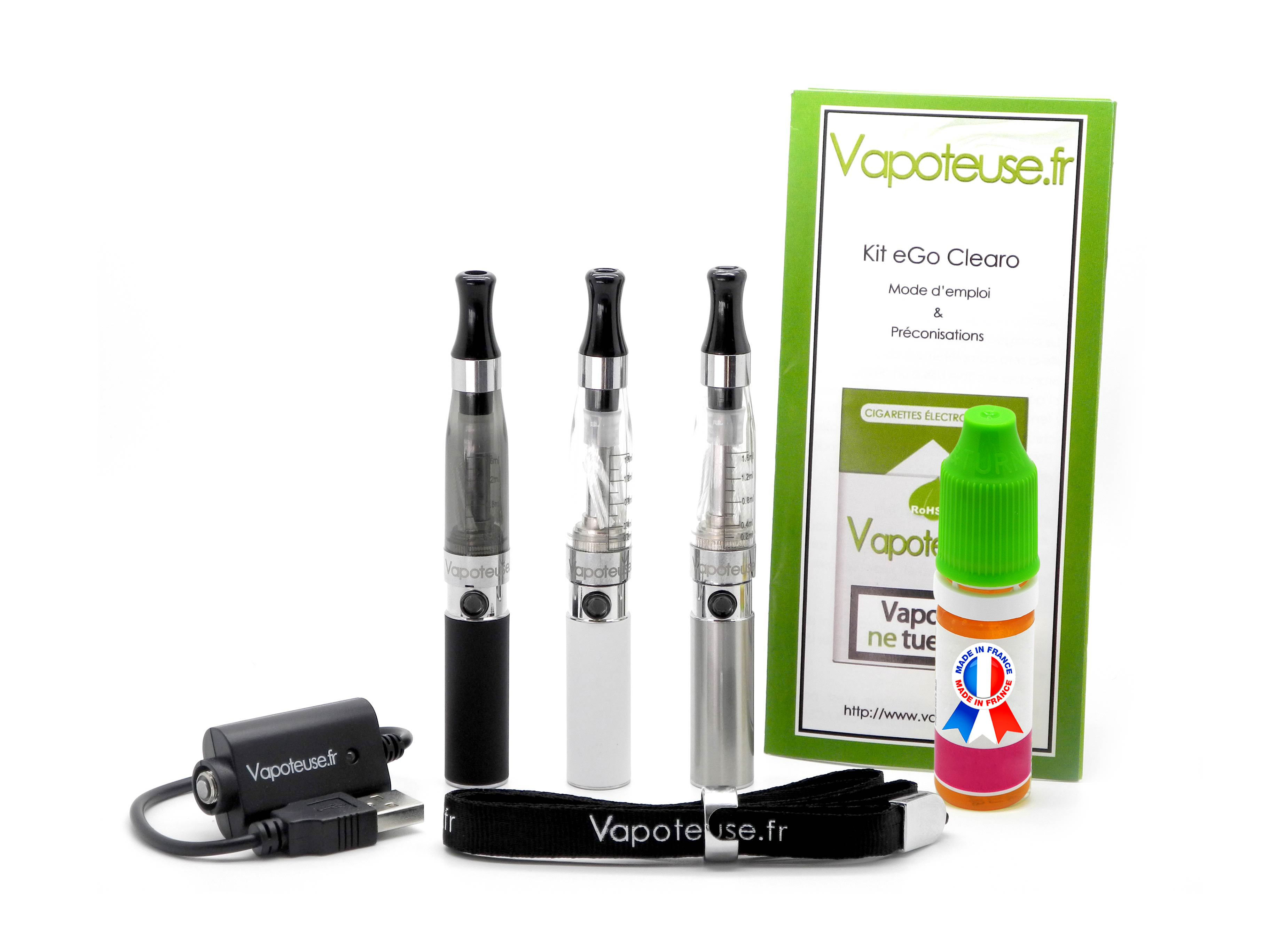 Kit Cigarette �lectronique eGo Clearo Mini