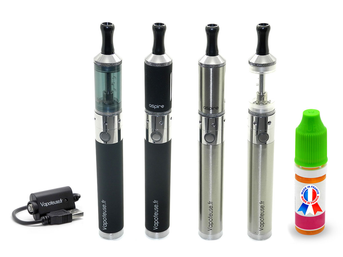 Kit Cigarette �lectronique eGo FAT Click + Vivinova