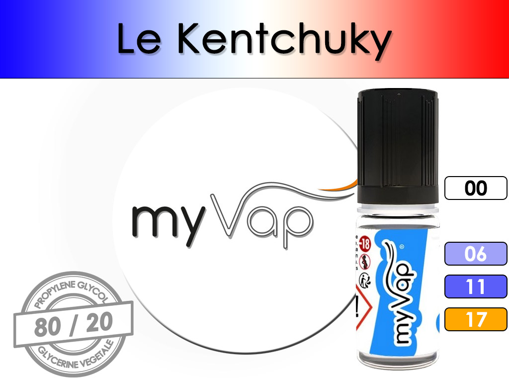 Le Kentucky - myVap ( T-Kentucky )