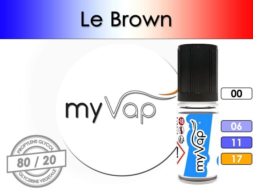 Le Brown - myVap ( X-Brown )