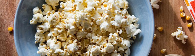 bandeau popcorn