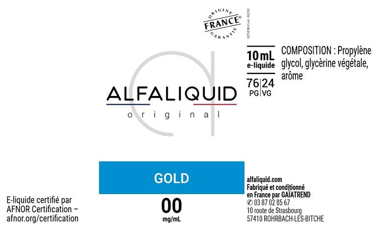 étiquette eliquide alfaliquid