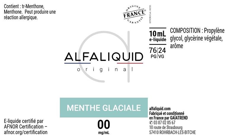 bandeau alfaliquid saveurs fraiche
