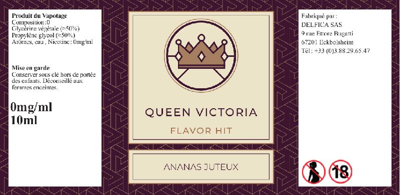 eliquide queen victoria flavor hit
