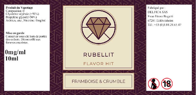 etiquette eliquide rubellit flavor hit